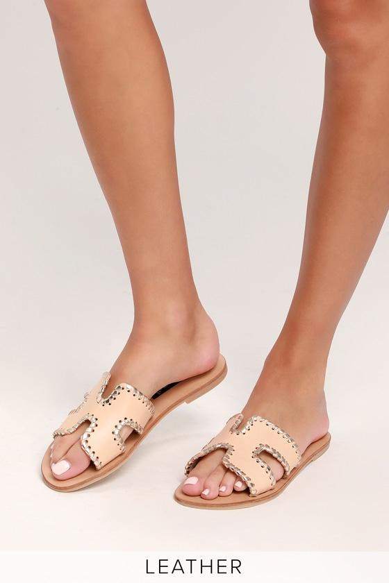 steve madden white greece sandals