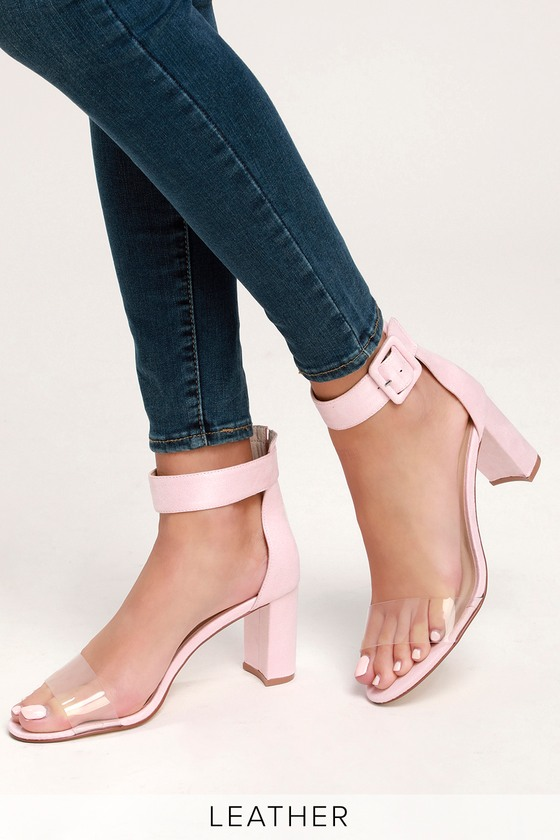 5085e5a1c90 Chinese Laundry Reggie - Pink High Heels - Genuine Suede Heels