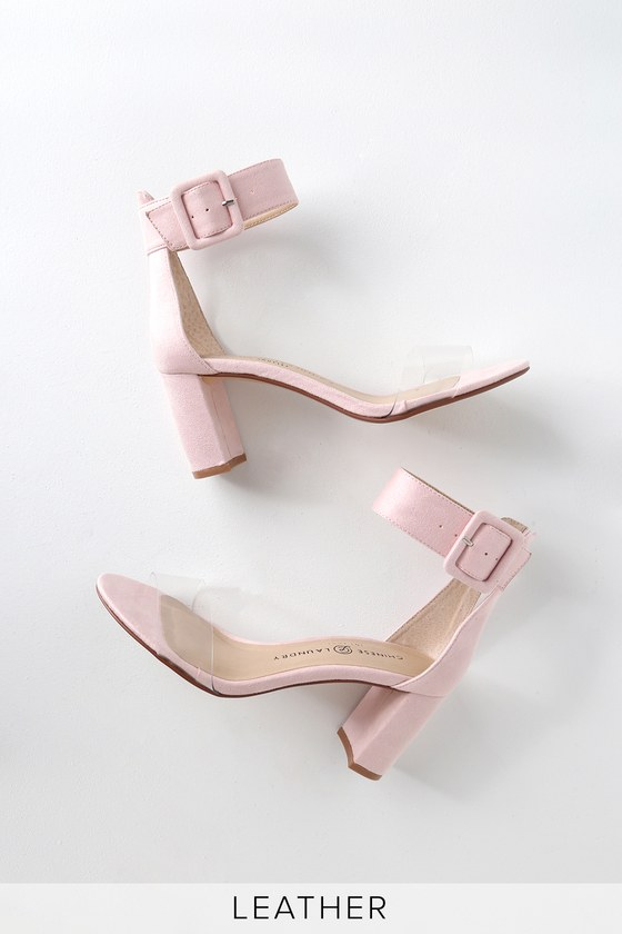 cb1a1aa2a Chinese Laundry Reggie - Pink High Heels - Genuine Suede Heels