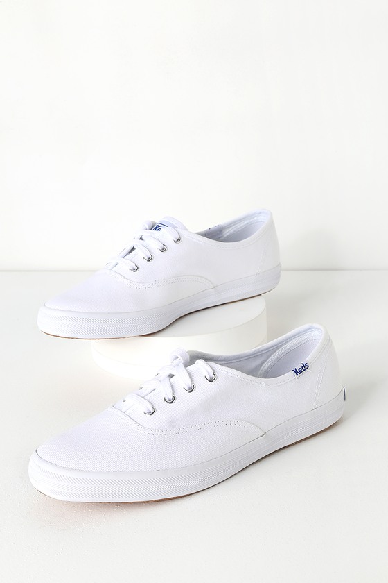 56cd68cd276d7 Keds Champion - White Sneakers - Lace-Up Sneakers