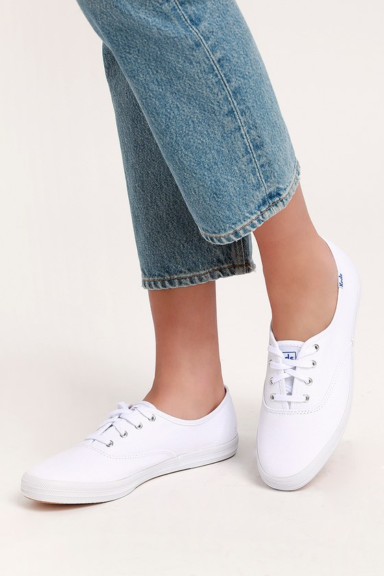 9fc0e44443e4 Keds Champion - White Sneakers - Lace-Up Sneakers