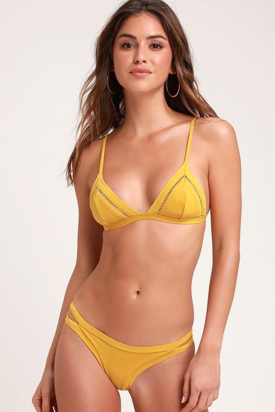 Sunchaser Itsy Chartreuse Bikini Bottoms - Lulus
