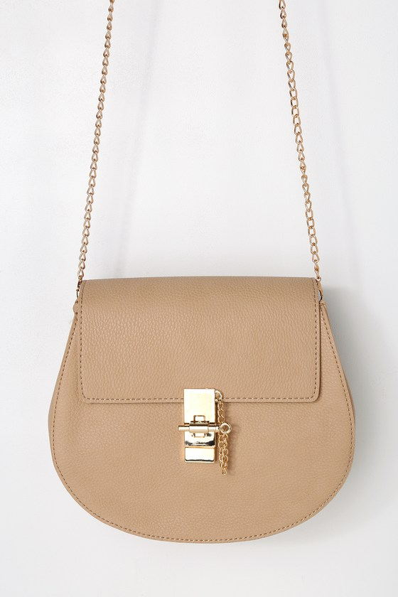 Sincerely Stylish Taupe Purse