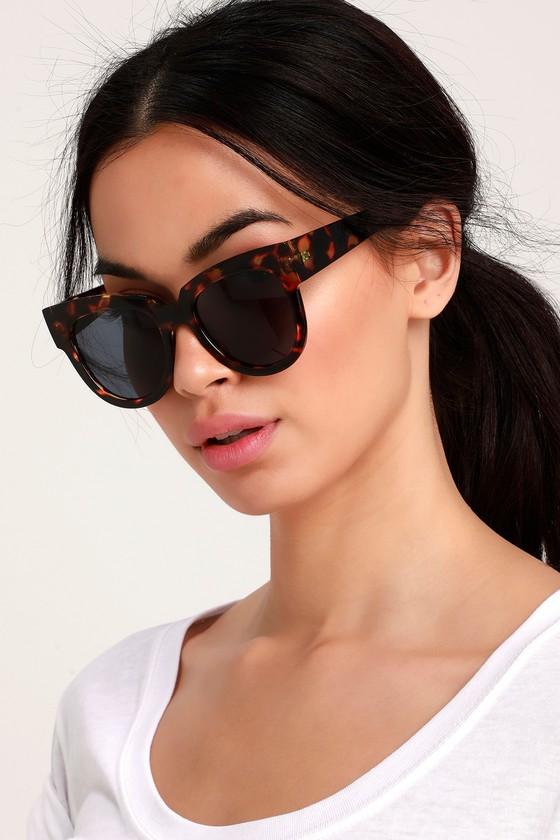 Cute Tortoise Sunglasses - Oversized Sunglasses - Sunnies 60a905247