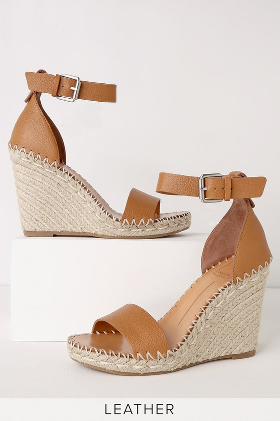 3231e3abf2f Dolce Vita Noor - Genuine Leather Wedges - Espadrille Weges