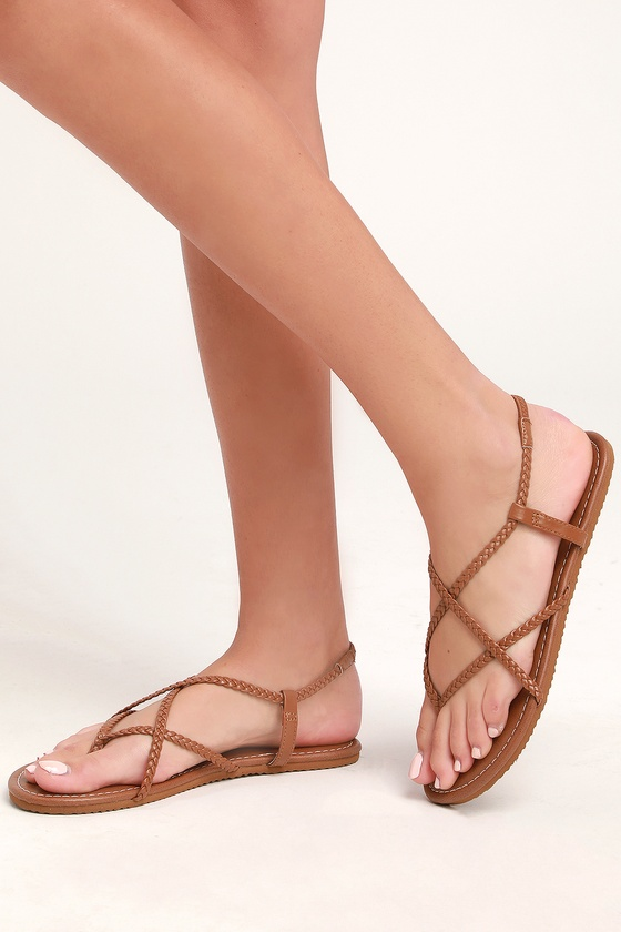 dcdb88ba1 Billabong Crossing Over 2 - Brown Strappy Sandals - Flat Sandals