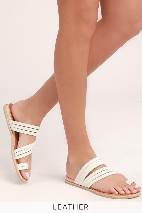 67f44b7e2a0c Dolce Vita Nelly - Off White Multi Sandals - Flat Sandals