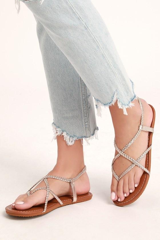 403be220f Billabong Crossing Over 2 - Metallic Sandals - Flat Sandals