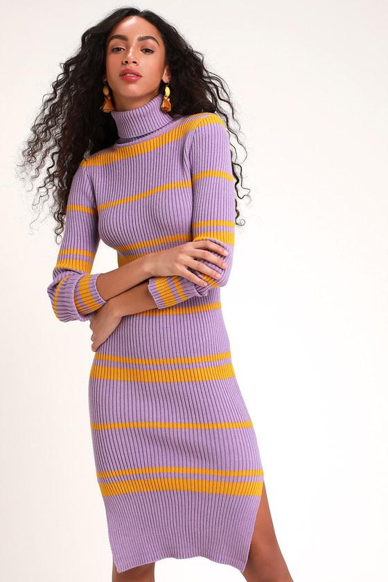 e223656a88 Moon River Sweater Dress - Turtleneck Sweater Dress - Dress