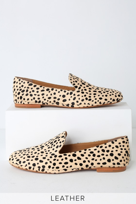 be7adadc0b88 Dolce Vita Wynter - Leopard Calf Hair Flats - Loafers