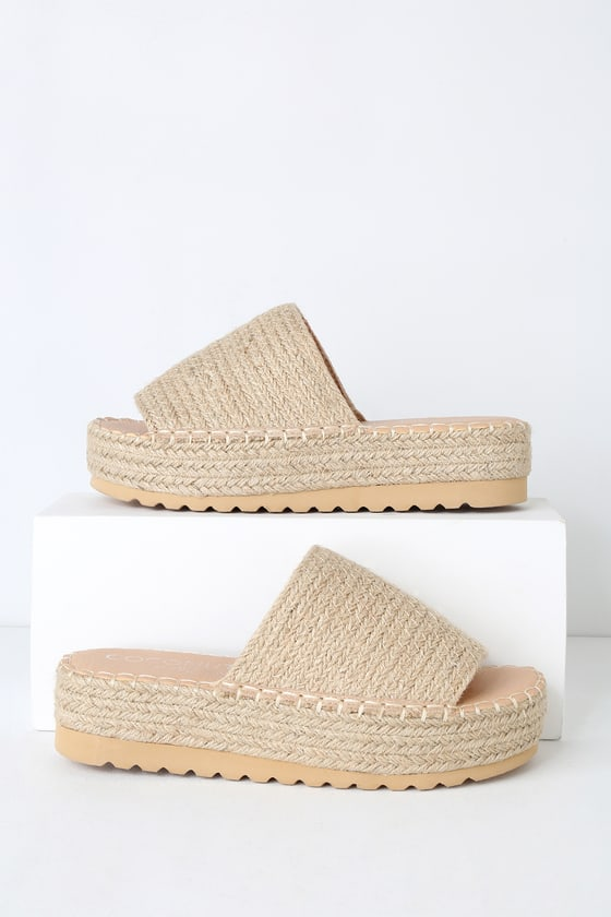 00c9f6e3a39 Coconuts by Matisse Del Mar - Natural Espadrilles - Tan Flatforms