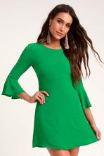 11cc0e82ca5a Keepsake Horizons - Black Flounce Sleeve Dress - Mini Dress