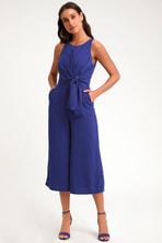 341401bd732 Amuse Society Calypso - Black Print Jumpsuit - Midi Jumpsuit -  58.00