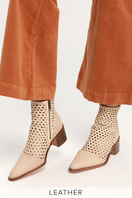 Loop - Woven Leather Boots