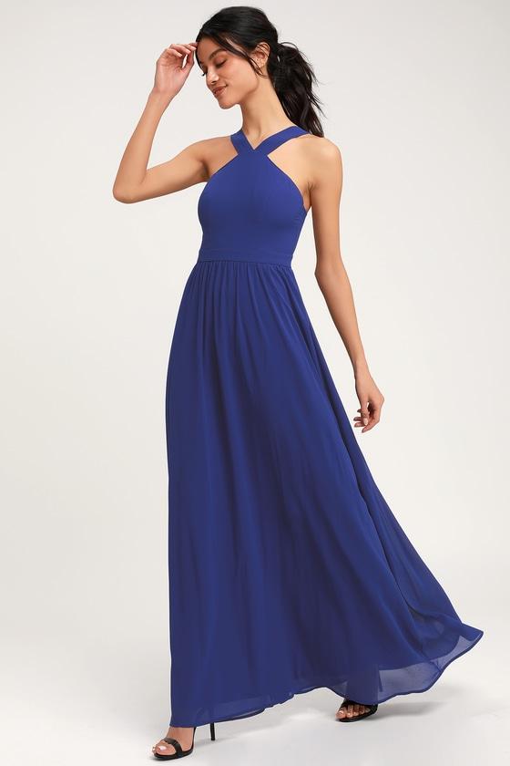 10 Beautiful Blue Graduation Dresses 2