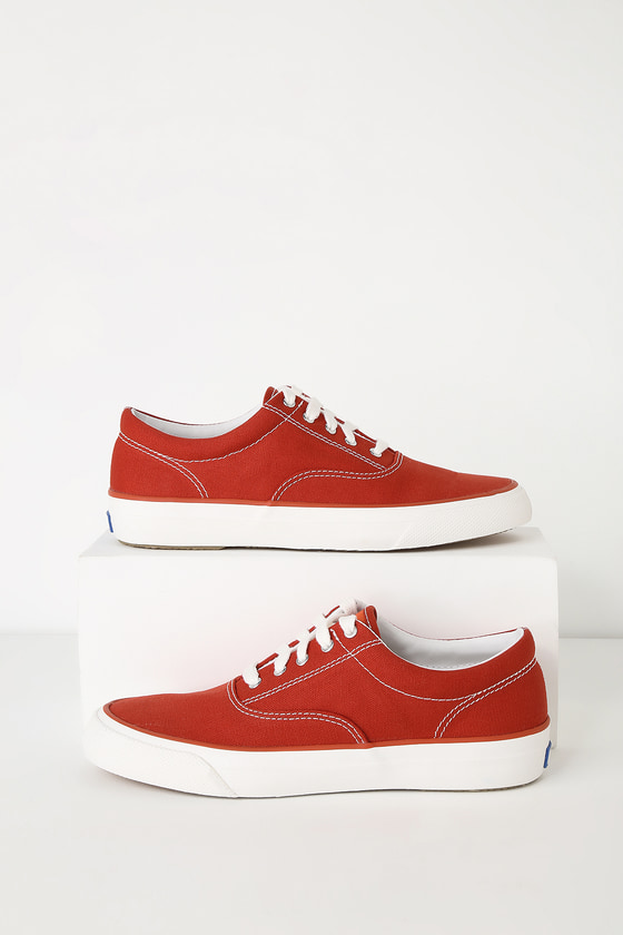 4c8683cd3898 Keds Anchor - Red Sneakers - Canvas Sneakers