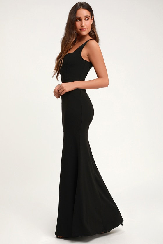 Sweetest Thing Black Maxi Dress