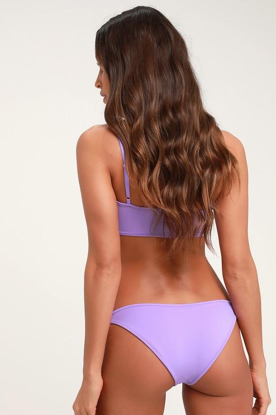 ed67962f87 Cool Lavender Bikini Bottom - High-Cut Bikini Bottom - Bottoms