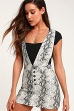 550666b49d1b7a O Neill Jamyson - Grey Striped Dress - Embroidered Dress - Dress