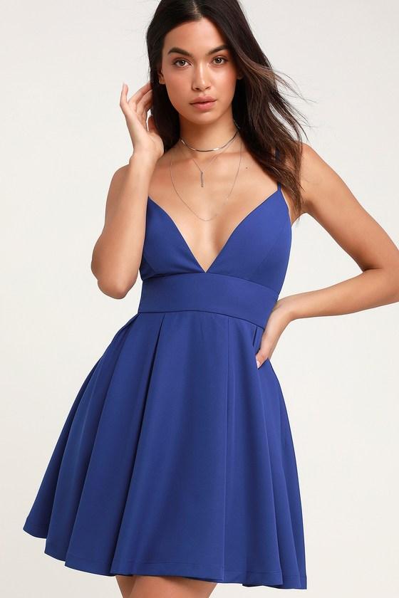 10 Beautiful Blue Graduation Dresses 11
