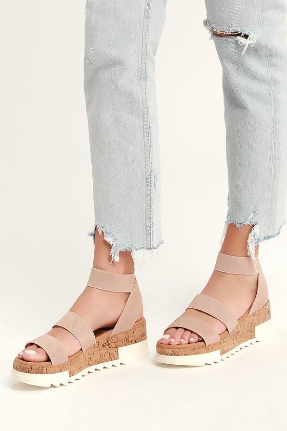 Steve Madden Bandi - Blush Sandals