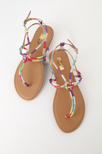 3c3afc846 Trendy Holographic Sandals - Clear Sandals - Studded Sandals