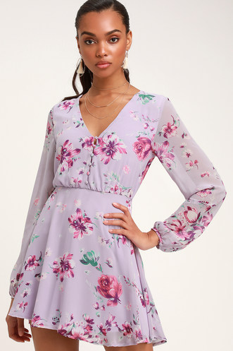 Buy a Trendy Long Sleeve Dress and Look Hot on Cool Days ... 74384dded