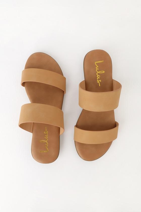 Slide Slide Sandals Natural Oona Sandals Natural Oona Natural Oona SMqpUzV