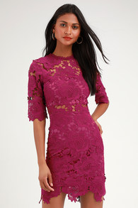 Stylish Purple Cocktail Dresses and Gowns for Less  dbf0294cf6