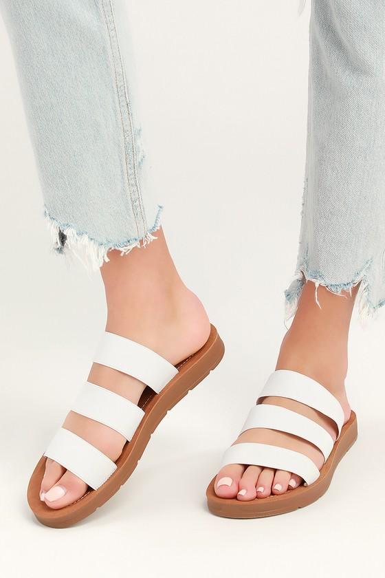 steve madden pascale slide sandal 8b7bfb