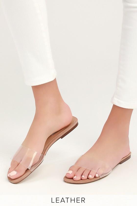 Steve Madden Bev - Clear Sandals