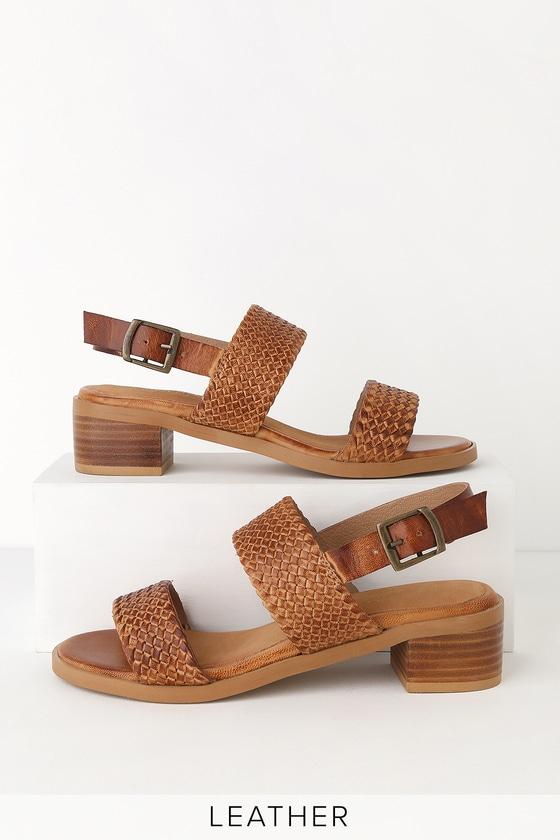 3af44ccfa42 Bring It Back Tan Leather Sandals