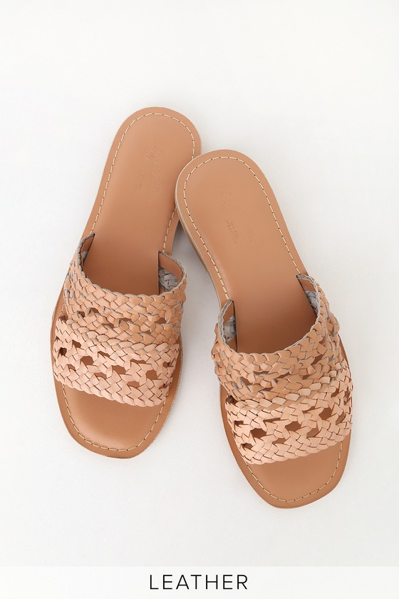 And Everlasting Leather Sand Natural Sandals Slide QdBoWCxer
