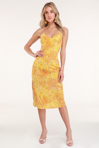 Find a Trendy Women s Yellow Dress to Light Up a Room  affbdf63b