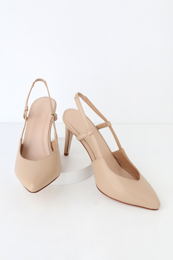new high quality really cheap online store RAID Nude Pumps - Slingback Pumps - V-Neck Pumps