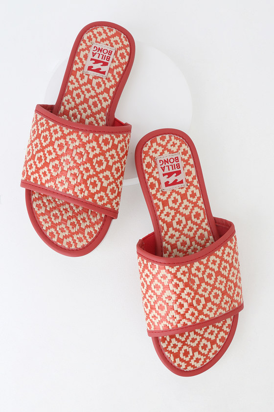 Coral White Vintage And Slide Out Suns Sandals QBderoCWx