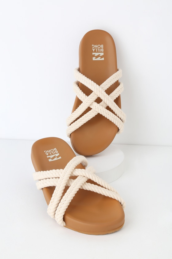 Whip Cream Sandals Slide Tide Rope Cool SqVUpzM