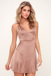06ff00131f163 Cute Rusty Rose Pinafore Dress - Corduroy Pinafore Dress