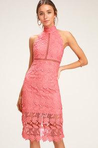 addb8c9f6e6 Stunning Blush Maxi Dress - Mermaid Maxi Dress - Plunging Dress
