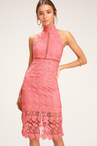 6cb7a69ba8a37 Buy a Cute Women's Coral Dress | Latest Styles of Orange Cocktail ...