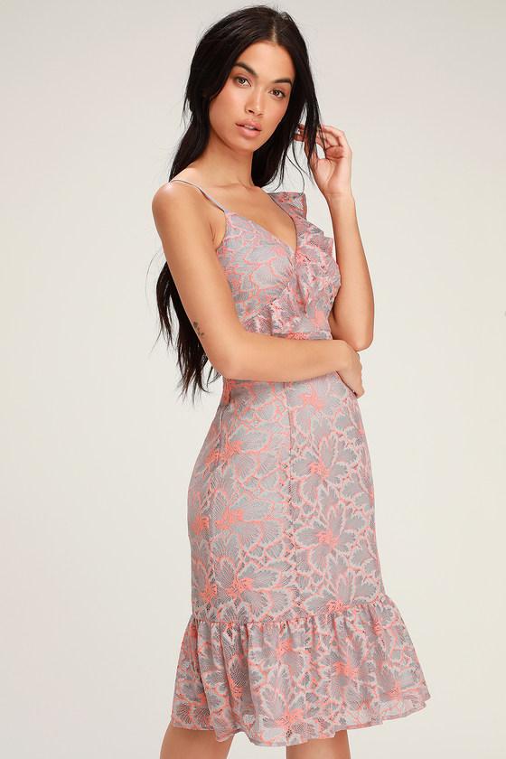 Flashy Purple Dress
