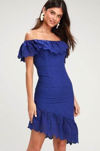 5eaae51f93b4 Find a Cute Off-Shoulder Casual Dress at a Great Price