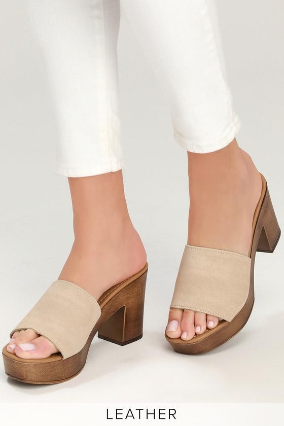 Suede Sand Sandals Fran Platform Leather uFKcTl1J3