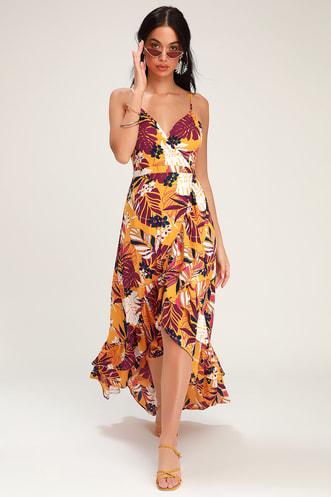 1faeeef515db Shop Short or Long Wrap Dress in the Latest Style for Less