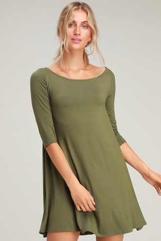 eb4d7331750 Buy a Trendy Long Sleeve Dress and Look Hot on Cool Days ...
