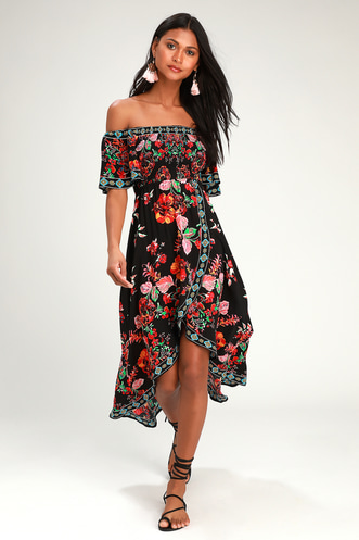 1b7e3fe670 Find a Cute Off-Shoulder Casual Dress at a Great Price