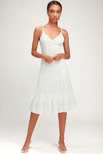7f84e16d7591 Trendy White Dresses for Women in the Latest Styles