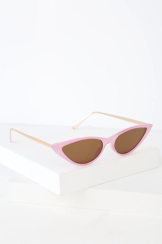 5a6bbfd8c178e Cute Pink Sunglasses - Pink Cat-Eye Sunglasses - Pink Sunnies