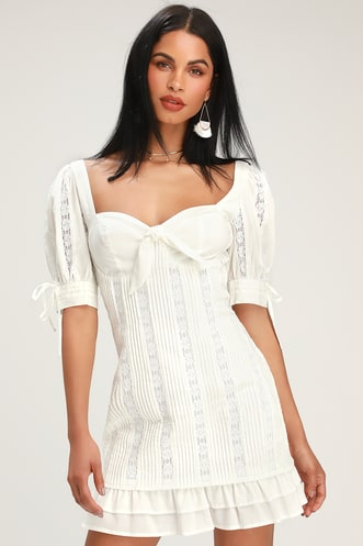 42e03db893b Trendy White Dresses for Women in the Latest Styles