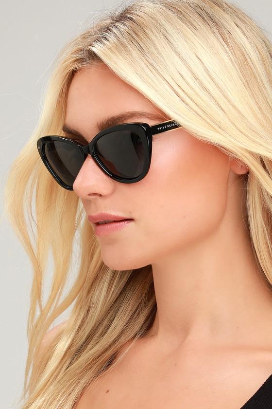 591be05db65f4 Prive Revaux The Hepburn - Black Sunnies - Black Sunglasses